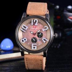 Toko Swiss Army Jam Tangan Pria Swiss Army Sporty Elegant Watches Body Bronze Brown Dial Sa 2463A Bc Tgl Kulit Coklat Lengkap Di Dki Jakarta