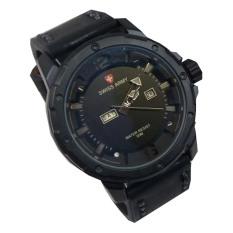 Swiss Army Jam Tangan Pria Terbaru - Leather Strap - SA 2556MR -