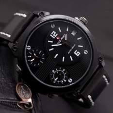 Swiss Army Jam Tangan Pria Triple time – Leather Strap – SA 70604 AD