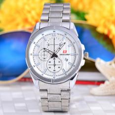 Beli Swiss Army Jam Tangan Wanita Body Silver White Dial Stainless Steel Band Sa 5383L Tgl Sw Online Dki Jakarta