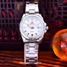 Swiss Army - Jam Tangan Wanita - Body Silver - White Dial - Stainless Steel Band - SA-5386L-TGL-SW
