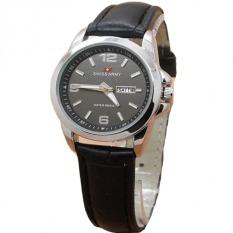 Harga Swiss Army Jam Tangan Wanita Leather Strap Black Sa 1571 Bl Online