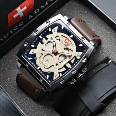 Beli Swiss Army Kotak Leather Strap For Man Cicil