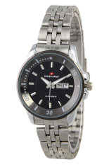 Spesifikasi Swiss Army Ladies Elegant Jam Tangan Wanita Silver Stainless Sa 0967 L Ss Bl Lengkap