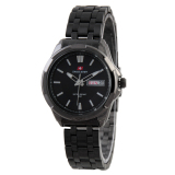 Jual Swiss Army Ladies Fashion Hitam Stainless Sa 5090L Fb Baru
