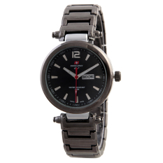 Harga Swiss Army Ladies Fashion Hitam Stainless Sa 6138 Blk Sil Swiss Army Ori