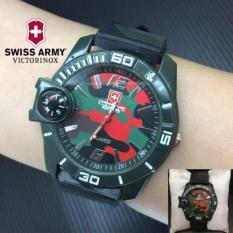 Swiss Army Men's -SA0143 - ARMY - Jam Tangan Pria - Strap RUBBER