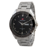 Jual Swiss Army Mens Fashion Silver Stainless Sa 5088 M Swiss Army Murah
