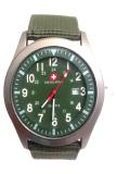 Beli Swiss Army Men S Sa 2013 M Jam Tangan Pria Bezel Hijau Kanvas Swiss Army Dengan Harga Terjangkau