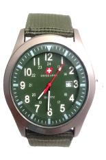 Beli Swiss Army Men S Sa 2013 M Jam Tangan Pria Bezel Hijau Kanvas Online Terpercaya