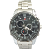 Toko Swiss Army Men S Sa012Mbb Jam Tangan Pria Hitam Analog Digital Stainless Steel Online