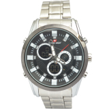 Swiss Army Men S Sa012Mbw Jam Tangan Pria Hitam Analog Digital Stainless Steel Original