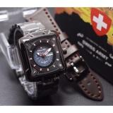Spesifikasi Swiss Army Original Model Trendy Casual Jam Tangan Pria Stainless Steal Strap Baru