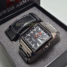 Beli Swiss Army Paket Kotak Jam Tangan Pria Sa1564 Black Cicil