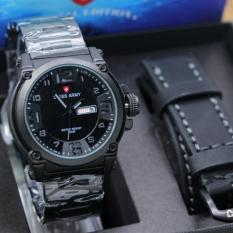 Berapa Harga Swiss Army Paket Ocean Sa611Ny Jam Tangan Pria Bonus Tali Kulit Di Dki Jakarta