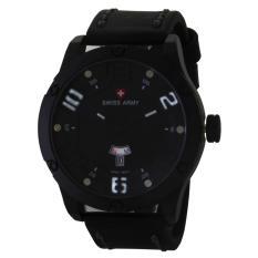 Swiss Army Quartz Watch SA 0128M FB WH - Jam Tangan Pria