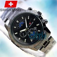 Toko Swiss Army Rantai Plat Putih Lengkap