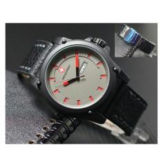Swiss army - SA 1187 - Design Casual - Jam Tangan Pria - Leather Strap