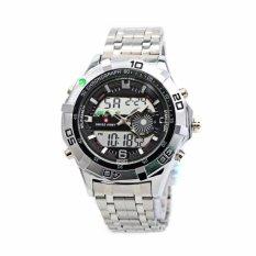 Spesifikasi Swiss Army Sa 2101 Dual Time Jam Tangan Pria Lengkap