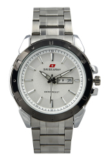 Review Swiss Army Sa 2308Gs Ss Sil Jam Tangan Pria Silver White Stainless Swiss Army Di Indonesia