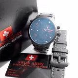 Swiss Army Sa 4170 Triple Time Jam Tangan Pria Original