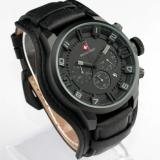 Toko Swiss Army Sa 4372Cj Chrono Hitam Abu Jam Tangan Fashion Pria Leather Strap Analog Mode Online Di Dki Jakarta
