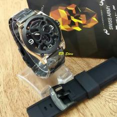 Spesifikasi Swiss Army Sa 5198 Jam Tangan Pria Stainless Strap Black Lengkap Dengan Harga