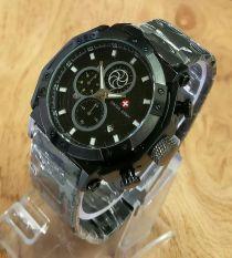 Toko Swiss Army Sa 6007 B Jam Tangan Pria Stainless Steel Black Lengkap Dki Jakarta