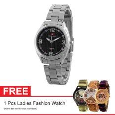Toko Swiss Army Sa 7777 Ss Bl Free Jam Tangan Ladies Fashion Jam Tangan Wanita Stainless Silver Lengkap Di Indonesia