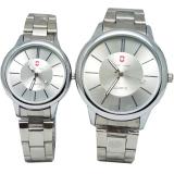 Beli Swiss Army Sa 8110 Jam Tangan Couple Strap Stainless Steel Silver Putih Lengkap