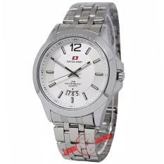 ... Swiss Army SA0057M Jam Tangan Pria Stainless Silver