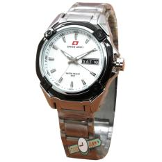 Spesifikasi Swiss Army Sa0059L Jam Tangan Wanita Stainless Silver Paling Bagus