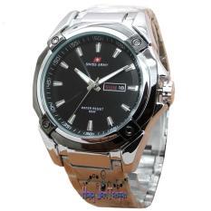 Spesifikasi Swiss Army Sa0060M Jam Tangan Pria Stainless Silver Hitam Yg Baik