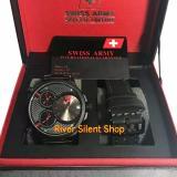 Jual Cepat Swiss Army Sa0217Yd Mrh Jam Tangan Paket Tali Jam Tangan Formal Dan Kasual Pria Fiture Exclusive Stainless Free Strap
