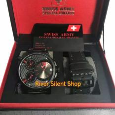 Review Swiss Army Sa0217Yd Mrh Jam Tangan Paket Tali Jam Tangan Formal Dan Kasual Pria Fiture Exclusive Stainless Free Strap Terbaru