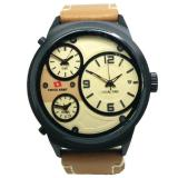 Swiss Army Sa1153 Jam Tangan Pria Leather Strap Original