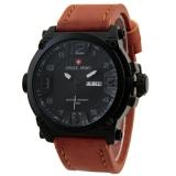 Ulasan Mengenai Swiss Army Sa279Ct Coklat Putih Jam Tangan Pria Analog Leather Strap
