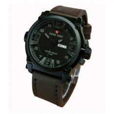 Spesifikasi Swiss Army Sa279Ct Coklat Tua Jam Tangan Pria Analog Leather Strap Lengkap