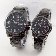 Jual Swiss Army Sa5099M New Limited Edition Jam Tangan Couple Stainlesstell Strap Silver Swiss Army Branded