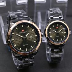Harga Swiss Army Sa5154 Jam Tangan Couple Stainlesstell Strap Analog Mode Branded