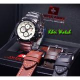Beli Swiss Army Sa5205M Jam Tangan Formal Pria Stainlessteel Leather Strap Black Swiss Army