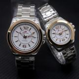 Katalog Swiss Army Sa5768Ds Jam Tangan Couple Stainless Steel Putih Hitam Gold Terbaru