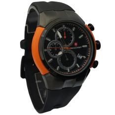 Beli Swiss Army Sa6063 Bw Jam Tangan Pria Strap Rubber Yang Bagus