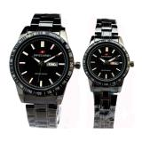Ulasan Lengkap Swiss Army Sa6111 Jam Tangan Couple Stainless Full Hitam