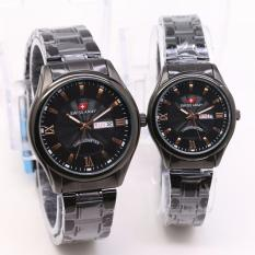 Jual Swiss Army Sa9404M New Limited Edition Fitur Tanggal Hari Aktif Jam Tangan Couple Stainlesstell Strap Swiss Army Branded