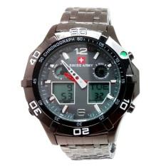 Jual Swiss Army Sport Digital Combo Jam Tangan Pria Stainless Hitam Dial Hitam Sa 1101 A Swiss Army Branded