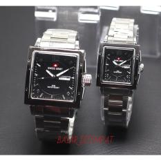 Jual Swiss Army Sport Fashion Casual Fitur Tanggal Hari Aktif Jam Tangan Couple Pasangan Formal Trendy Body Stainless Tali Rantai Model Terbaru Swiss Army