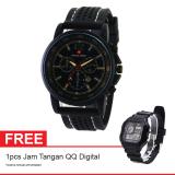 Toko Swiss Army Sport Jam Tangan Pria Resin Hitam Sa 12031 Fb Gratis Jam Tangan Qq Digital Lengkap