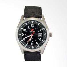 Swiss Army Sporty Jam Tangan Pria - Black SA1881SB