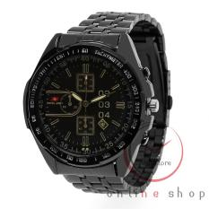 Swiss Army Tanggal 4042 - DS Jam Tangan Pria Stainless Stell Black